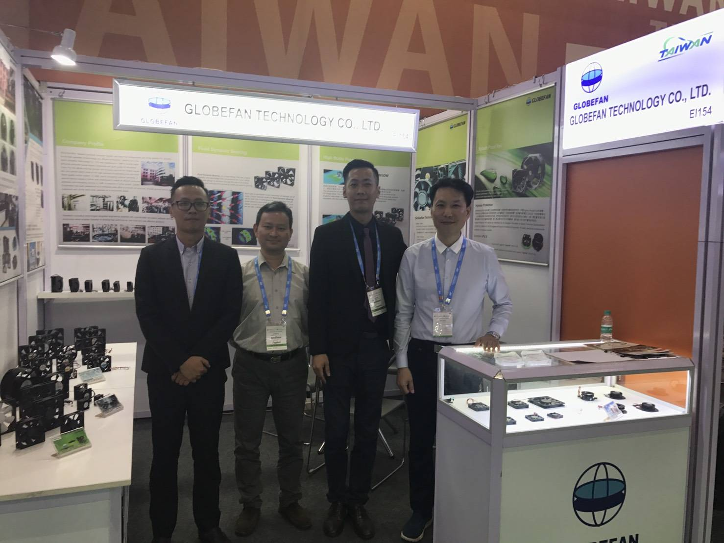 Globefan successful exhibition in Electronica India and Productronica India 2018