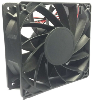 120*120*38mm DC Industry Fan (Power Saving & High Airflow)