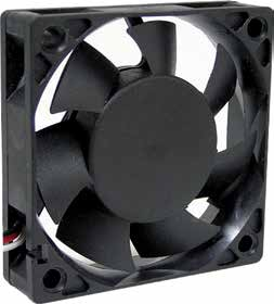 60*60*15mm DC Axial Fan