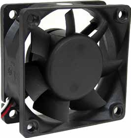 60*60*25mm DC Axial Fan