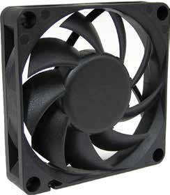 70*70*15mm DC Axial Fan
