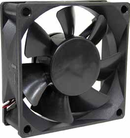 70*70*25mm DC Axial Fan