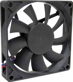 80*80*15mm DC Axial Fan