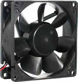 80*80*25mm DC Axial Fan